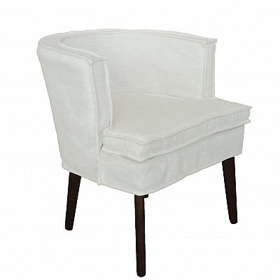 """Dining chair """"Ivy"""" in Ivory"""