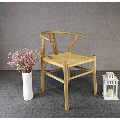 Natural Hans Wegner Replica Wishbone Chair