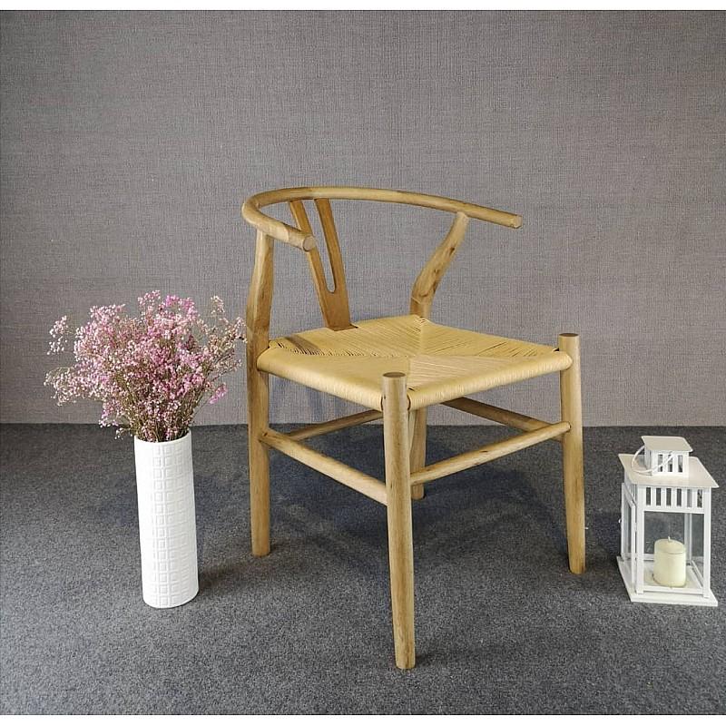 Natural Hans Wegner Replica Wishbone Chair