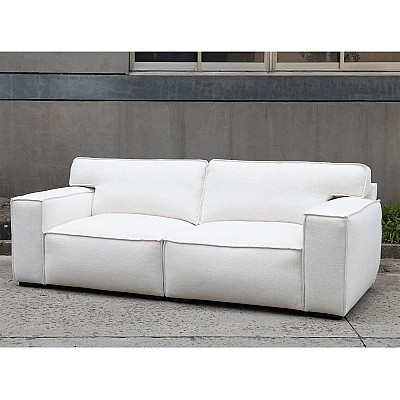 "3 Seater Sofa ""Linus"" in White"