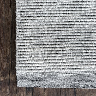 "Flatwoven Rug ""Helsinki"" in Light Grey"
