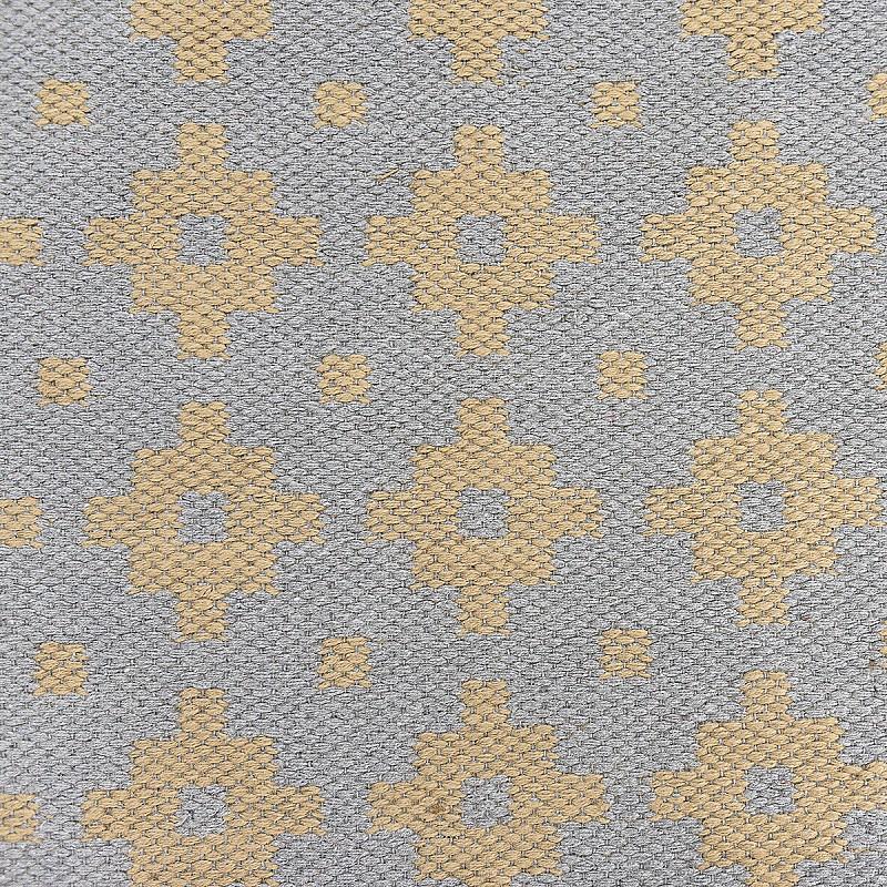 Jute Flatweave Rug Star in Grey