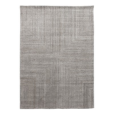 "Wool Tufted Rug ""Savana"" Beige"