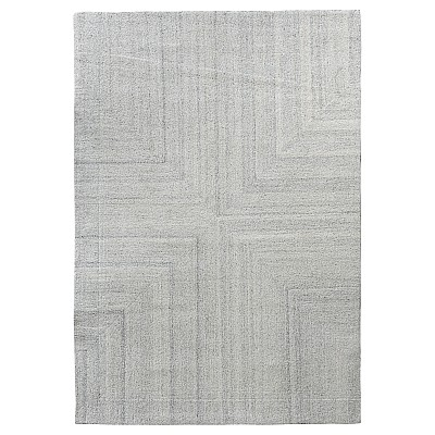 "Wool Tufted Rug ""Savana"" Cream"