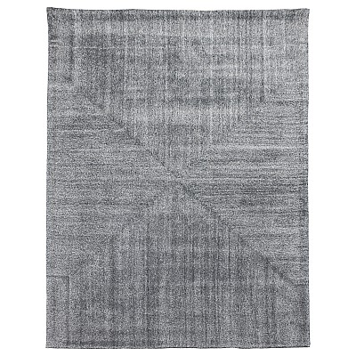 "Wool Tufted Rug ""Savana"" Grey"