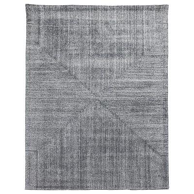 """Wool Tufted Rug """"Savana"""" Grey"""