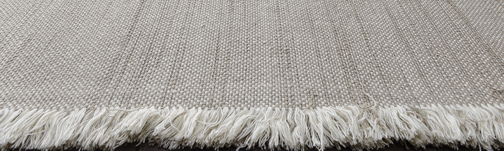 Wool Handloom With Fringe