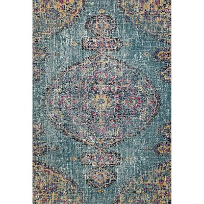 Eastern Way 65008 (blue/anthracite) Vintage Look Rug