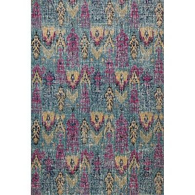 Eastern Way 65019 (blue/anthracite) Vintage Look Rug
