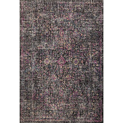 Eastern Way 65016 (anthracite/pink) Vintage Look Rug