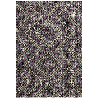 Eastern Way 65021 (anthracite/pink) Vintage Look Rug