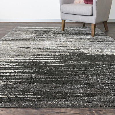 "Machine Made Soft Polyester Rug ""Ultra 5993H"""