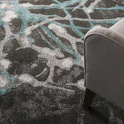"Machine Made Soft Polyester Rug ""Ultra 602K"""